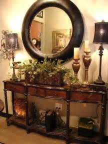 Entrance Table Decor Colonial Decor Entry Table With Classic Mirror Colonial West Indies