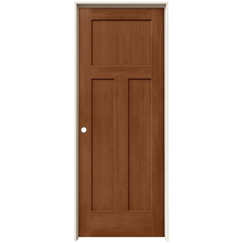 wood interior doors home depot 28 images jeld wen 28 jeld wen 28 in x 80 in craftsman hazelnut stain right