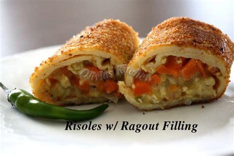 risoles rissoles ragout indonesian snack deep fried