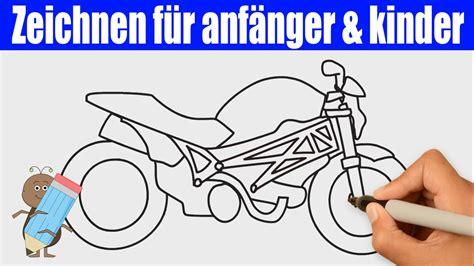 Motorrad Bilder Gemalt by Motorrad Zeichnen 2 In 90s Zeichnen Lernen F 252 R Anf 228 Nger