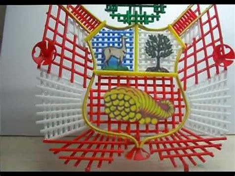como hacer un escudo material resiclave escudo nacional reciclable youtube