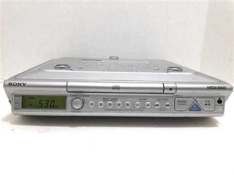 sony under cabinet radio antenna sony icf cd543rm under cabinet radio spacesaver cd clock
