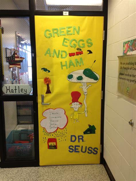 dr seuss quot green eggs and ham quot door decoration dr