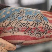 made in the usa tattoo proudly made in usa patriotic on arm tattooimages biz