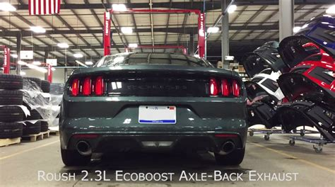 active cabin noise suppression 1967 ford mustang electronic valve timing 2015 ford mustang ecoboost v6 sound furious with roush performance exhaust kit autoevolution