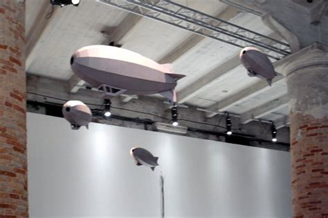 zamora designboom hector zamora zeppelin installation at venice art biennale 09