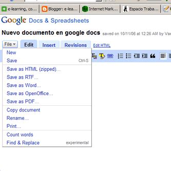 Link Spreadsheets In Docs by E Learning Conocimiento En Link Docs