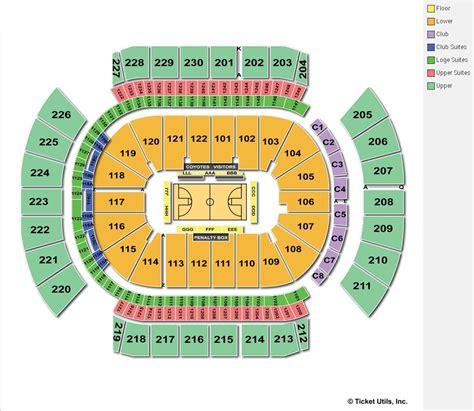 arena seating chart gila river arena glendale az seating chart view