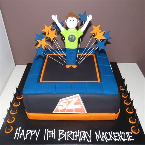 Birthday Decorations At Home Ideas by Trampoline Cake Skyzone Theme That S My Cake