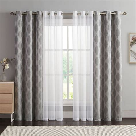 layering curtains with sheer 25 best ideas about layered curtains on pinterest