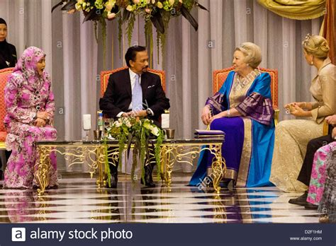 sultan hassanal bolkiah wives sultan hassanal bolkiah of brunei c and his wife