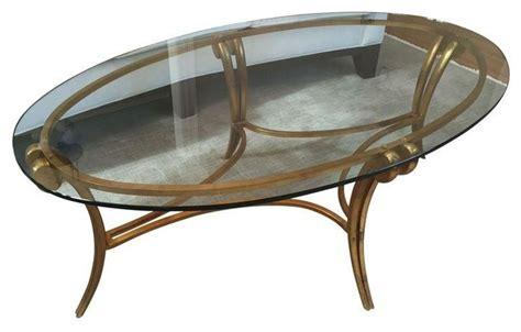 barbara barry glass metal coffee table modern coffee
