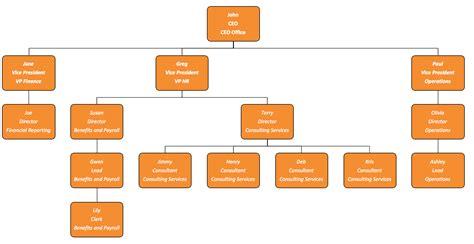 100 organization flow chart template excel
