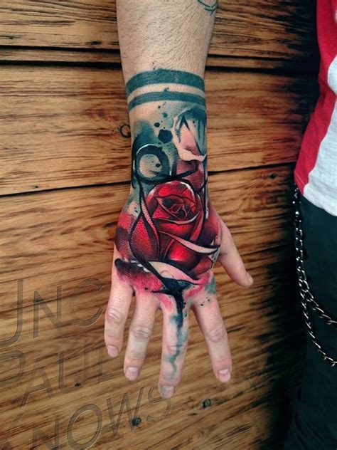 red handed tattoo 1000 ideas about on