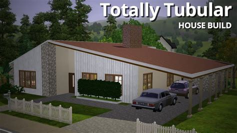 want to build a house the sims 3 house building totally tubular 1970s house