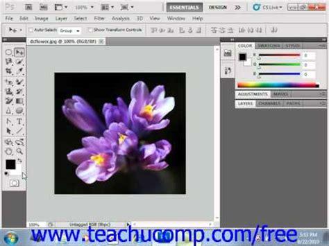 photoshop cs5 tutorial cut out background photoshop cs5 tutorial foreground background colors