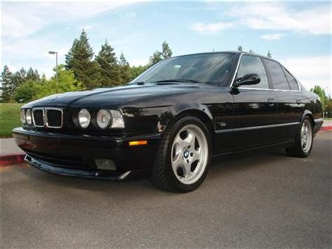 1995 bmw 540i for sale 1995 bmw 540i m sport dinan v8 6 speed blk blk for sale
