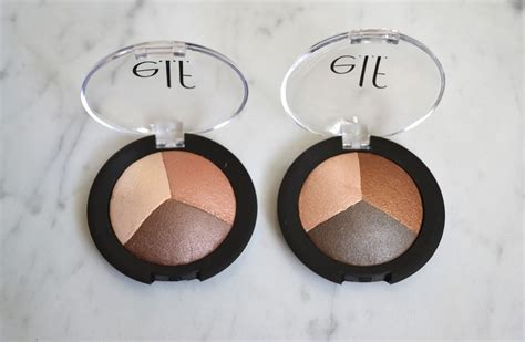 E L F Cosmetics Baked Eyeshadow Trio aquaheart e l f cosmetics baked eyeshadow photos