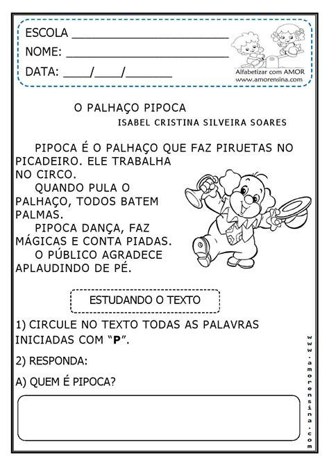 JORNAL PONTO COM: CIRCO - O PALHAÇO PIPOCA / TEXTO E