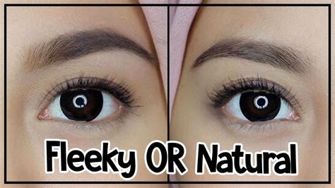 tutorial alis natural fleeky or natural tutorial bikin alis youtube