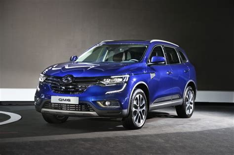 renault samsung to export qm6 to 80 nations