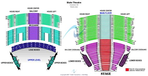state theater seating chart cleveland mannheim steamroller tickets cleveland state theatre