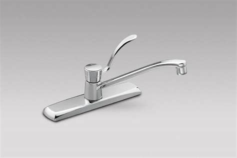 moen 8712 commercial single handle kitchen faucet chrome