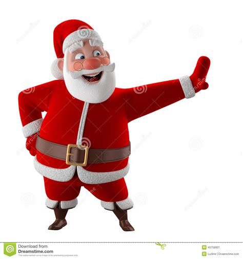 cheerful  model  santa claus happy christmas icon stock illustration image