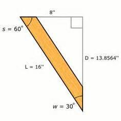 werkstatt zeichnen calculating length of 45 degree angle board dicas