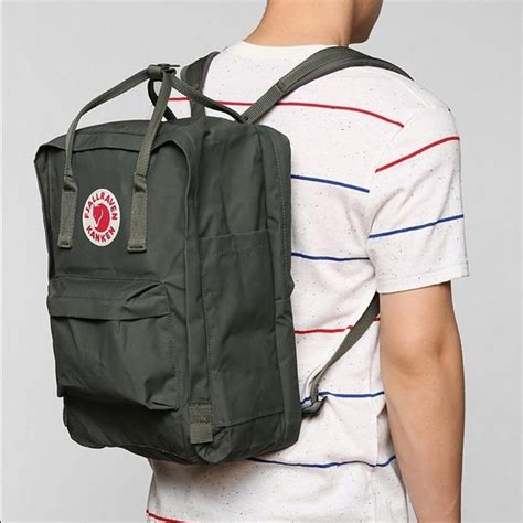 Fjallraven Kanken Color Forest Greenox 50 fjallraven handbags fjallraven kanken forest green classic size from aaliyah s closet