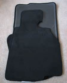 Bmw 7 Series Floor Mats Oem Bmw E46 Convertible Black Velour Style Floor Mats Ebay
