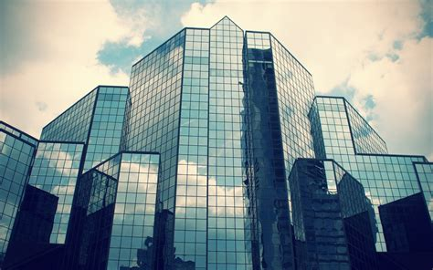 architecture glass building widescreen wallpaper wide