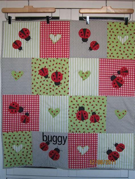 Ladybug Quilt by Ladybug Baby Quilt