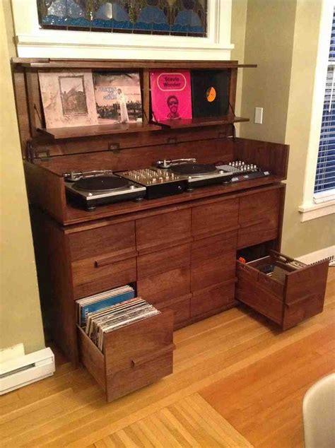 record album storage cabinet home furniture design