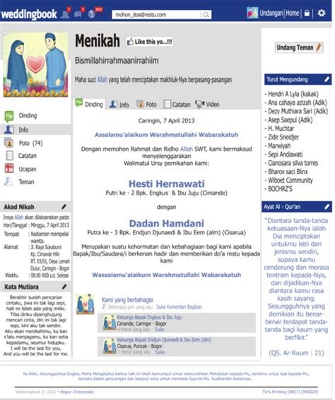 desain undangan pernikahan unik cdr download desain undangan unik facebook format psd dan cdr