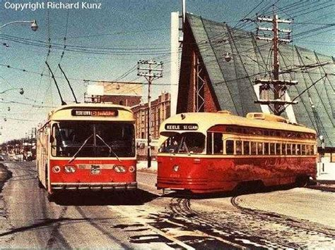 toronto trolleys and buses on 61 nortown 1954 1985 transit toronto surface route