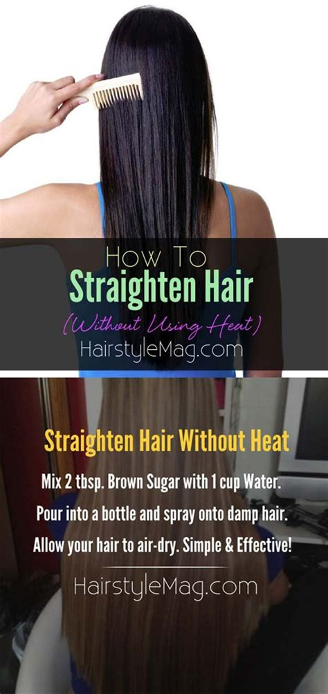 14 Tips For Straightening Hair by Best 25 Naturally Straighten Hair Ideas On