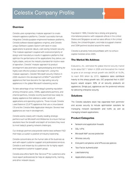 security company profile template 21 images of security company profile template leseriail