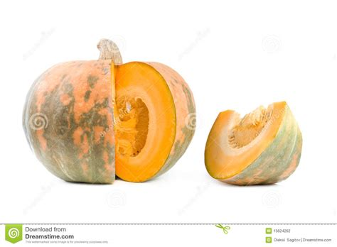 how to cut a pumpkin for cut pumpkin stock photography image 15624262