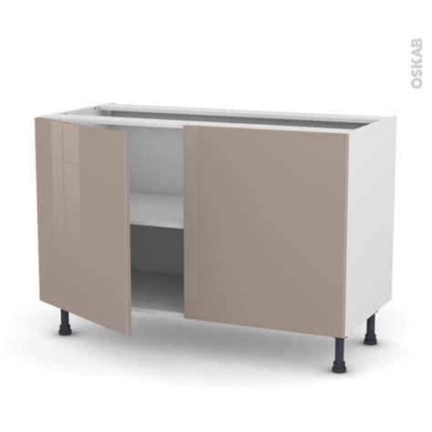 cuisine moka keria moka meuble bas cuisine 2 portes l120xh70xp58 oskab