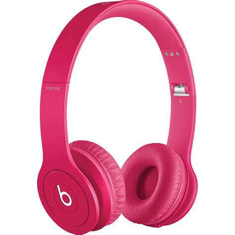Headphone Beats Pink Beats By Dr Dre Hd On Ear Headphones Mha12am A B H Photo