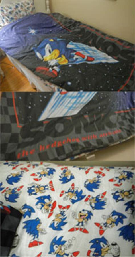 sonic the hedgehog twin sheet set household sonic the hedgehog goods