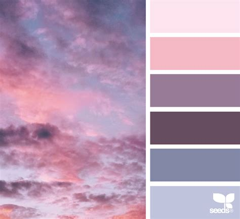 great color palettes cloud candy design seeds