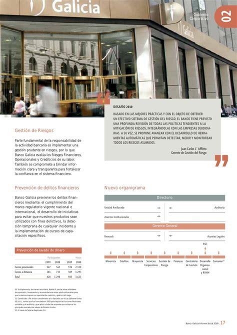 banco galicia creditos banco galicia como actor social financieras prestamos