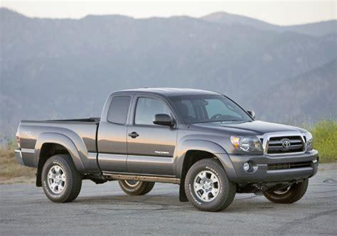 2009 Toyota Tacoma Recalls Recall Alert 2009 2010 Toyota Tacoma Pickuptrucks News