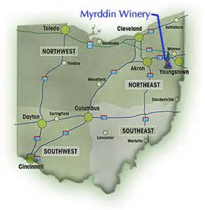 Ohio Wineries Map by Directions To The Winery