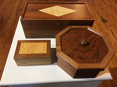 Handmade Wood Boxes For Sale - tauny presents folkstore artist spotlight bill smithers