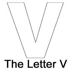 top 10 free printable letter v coloring pages