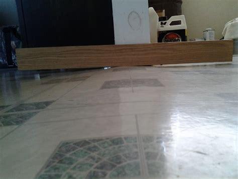 Kitchen Floor Unlevel Unlevel Slab Floors