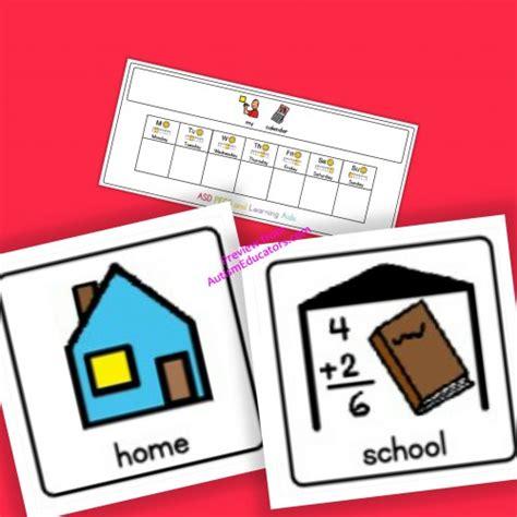 Cart School Calendar Home School Calendar Board And Cards Boardmaker